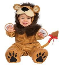 Infant Baby Boys Girls Cowardly Lion Halloween Costume