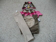 NEW Old Navy baby girl Owl 3p Halloween Costume 6-12 12-18-24 2T-3T 4T-5T  NWT