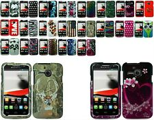 Any Designed Skin Snapon Hard Case For Alcatel One Touch Evolve D356/D393 Phone