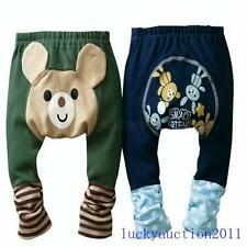 Cute Baby Boys Girls Funky Bottoms Pants Toddler Infant Animal Pattern Trousers