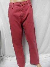 Men's Nautica rusted red denim relaxed fit jeans size-32x30,34x30,36x32.,,, NWT