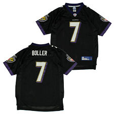 Reebok NFL Football Youth Baltimore Ravens Kyle Boller #7 Replica Jersey - Black