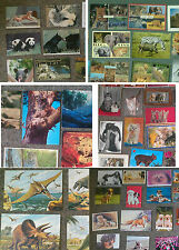 Animals Mixed Postcards Choice of Subjects Bats, Big Cats, Dinosaurs, Dogs etc