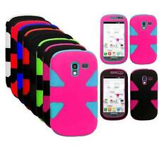 Phone Case For Samsung Galaxy Exhibit Tri-Layered Dynamic Cover/T599 Accessories