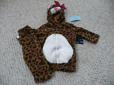 NEW Old Navy toddler girl Leopard Halloween Costume 6-12 12-24 2T-3T  4T-5T  NWT