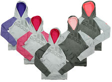 Adidas Big Girls Ultimate Pullover Performance Logo Hoodie