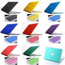 14 Colors Matte Rubberized Hard Case For apple Macbook air pro 11 13 15 '' inch