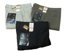 Haggar Men's Night Out Classic Fit Khaki Pants NWT Mocha, Black, Khaki