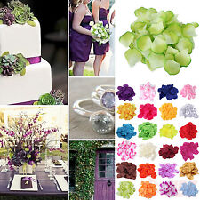 1000 pcs Various Multi Colors Silk Flower Rose Petals Wedding Party Decorations