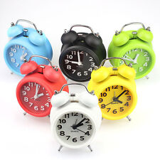 New Fashion Small Double-Bell Night Light Children Alarm Clock Nice