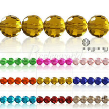 100Pcs Crystal DIY DiscoBall 5003 Loose Beads Jewelry Making 6mm Pearls
