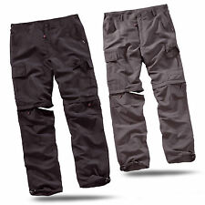 SURPLUS™ Raw Vintage OUTDOOR TROUSERS QUICKDRY Trekking Hose + Shorts in einem