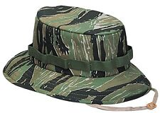 jungle hat boonie tiger stripe camo rothco 5539