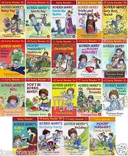 NEW HORRID HENRY EARLY READER book Tricks treats, Rich quick,Sports day,homework