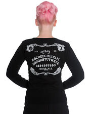 Hell Bunny Ouija Board Cardigan Top Black Gothic Occult Witchcraft Tattoo