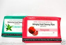 BCL Petal Fresh Brightening Anti-Aging Facial Cleansing Wipes 60ct Your Choice