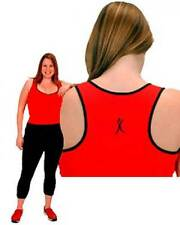 Sports Bra Sweetheart Cami- Red or Black 1x-7x Brand Worn on The Biggest Loser