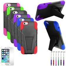 Phone Case For Apple Iphone 6s / Iphone 6 Rugged Hybrid Cover Stand Film Stylus