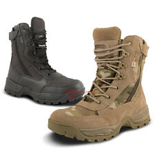 Spec Ops Side Zip Army Military Recon Combat Patrol Boots Security Airsoft Work