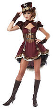 Adult Sexy Steampunk Girl Costume Halloween
