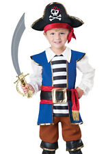 Pirate Captain Toddler Boys Halloween Costume