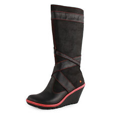 Art 249 Zip Womens Leather Black Boots New Shoes All Sizes