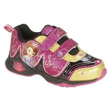 Disney Girls' Toddler Princess Sofia Light Up Sneakers Size 8, 9, 11,