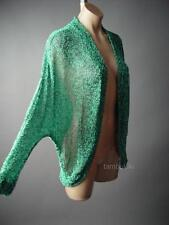 Urban Outfitters $44 Sparkle&Fade Speckled Knit Shawl Wrap 104 mv Cardigan XS S