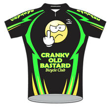 Cranky Old Bastard Bicycle Club Team Cycling Jersey Men's with Sox bike bicycle