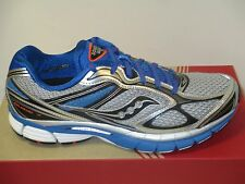 SAUCONY GUIDE 7 (SILVER/BLUE/BLACK) MENS RUNNING WIDE WIDTH