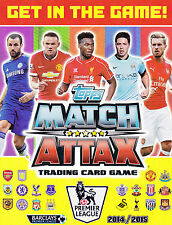 Match Attax 14/15 Man City & Man Utd Base Cards -- 50% off Buy 4 or more