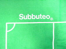 SUBBUTEO FOOTBALL PLAYING PITCH CLOTH BAIZE FROM 1960s - 1990s set M C109