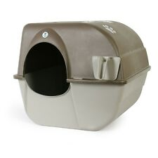 Omega Paw Roll Away Self Cleaning Cat Kitty Litter Box Two size Available