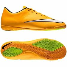 Nike Mercurial Victory IV IC INDOOR Soccer SHOES 2014 New L. Orange / White