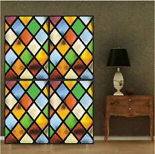 40cm*60cm Window Glass Furniture Multi Color Diamond Adhesive Frosted Film #N1-7