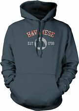 Havanese EST 1700 Dog Lovers Pure Bred Puppy Canine Cute Breed Mens Sweatshirt