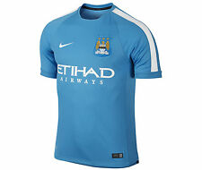Nike Manchester City Official 2014-15 Soccer Training Jersey New Sky Blue