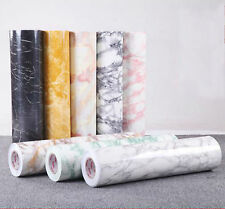 Marble Jade Grain Adhesive Film Room Decorative Wall Sticker Paper Wrap #N1-H