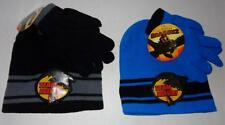 HOW TO TRAIN YOUR DRAGON Toddler Boys Hat & Gloves WINTER SET Cap Beanie Mittens