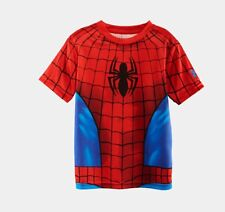 Under Armour Boy's Alter Ego T-Shirt Spider-Man UA Performance Compression New