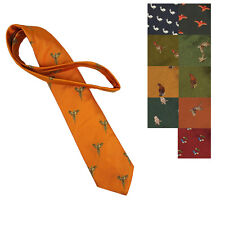 Sporting Lodge Finest Woven Silk Tie BRAND NEW VARIOUS DESIGNS Hunting Shooting