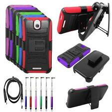 Phone Case For HTC Desire 512 510 Rugged Cover Stand Holster USB Charger Stylus