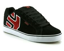 Etnies Fader Vulc SMU Black/Red/White Skate Shoes Trainers