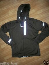 New with tag Nike Mens Element Shield Max hooded Running Jacket 503151-321