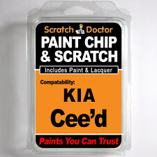 KIA Cee'd TOUCH UP PAINT Stone Chip Scratch Repair Kit 2006-2014