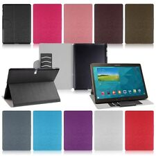 Leather Folio Hard Stand Cover Case for SM-T800 Samsung Galaxy Tab S 10.5 Tablet