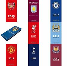 Offiical Football Soccer Club 2015 Pocket Diary Diaries NEW
