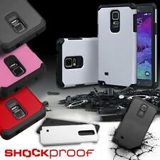 For Samsung Galaxy Note 4 Hybrid ShockProof Protective Hard Case Cover