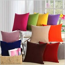 "9 COLORS!Decorative Pure Pillows Cover/Cushion Cover  19""x19"""