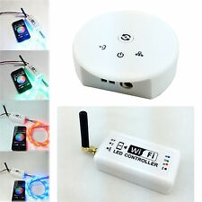 WiFi RGB / RGBW / Music UFO LED Strip Light Controller For iOS i Phone Android